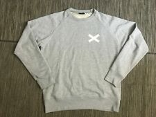 Edmmond Studios Men's Medium Cross Sweatshirt Long Sleeve Gray Cotton