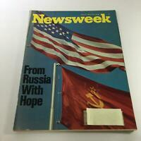Newsweek Magazine: June 5 1972 - From Russia with Hope
