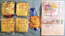 1992 McDonald's Happy Meal Toys - M SQUAD - Complete Mint Set (4) + U-3 + 2 Bags