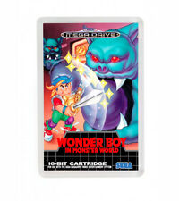 Wonder boy in monster world sega mega drive fridge magnet iman nevera