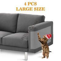 4 PCS Large Cat Scratch Guard Shield Furniture Sofa Walls Pet Couch Protector