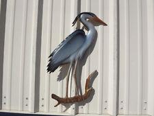"28"" Blue Heron Half Mount Replica"