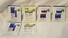 Derma E: Eye Creme, Purifying Mask, Scrub, Day Creme Samples - Lot of 6