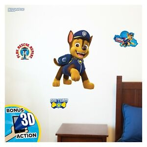 NEW Decalcomania Nickelodeon Paw Patrol Chase Augmented Reality Wall Decal
