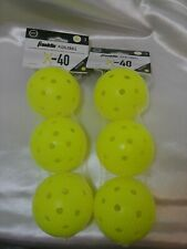 Franklin Sports X-40 Pickleballs - Outdoor Pickleballs - 2 Pack - Usapa Approved