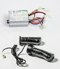 350W 24V kit speed controller+Variable Twist Throttle f scooter electric motor