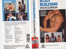 BODY BUILDING ENCYCLOPEDIA ~VIDEO  VHS PAL~A RARE FIND