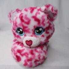 Build A Bear Pink Slippers Toddler Small 10-11 Pink Cat