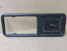 JEEP CHEROKEE 92-96 REAR POWER WINDOW SWITCH w/ BEZEL PASSENGER RH REAR BLACK