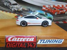 Carrera Digital 143 Porsche Carrera GT3 RSR Tuning Motor Reifen Magnet