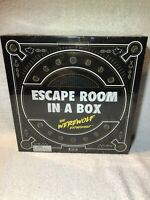 Escape Room In a Box The Werewolf Experiment Family Board Game New Sealed!