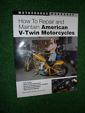 Come riparare e mantenere American V-TWIN MOTO motorbook Workshop Manuale