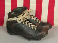 Vintage Sports Ltd. The Cert Leather Soccer/Football Shoes Rugby Stacked Cleats