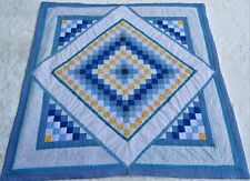 BEAUTIFUL COUNTRY PATCHWORK HAND MADE QUILT ~ BRAND NEW WITH ANTIQUE DESIGN
