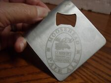 Moosehead Pale Ale 1867 Beer Bottle Opener Stainless Steel Opener Coaster