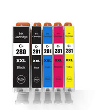 1 PGBK,1 BK,1 Cyan,1 Magenta,1 Yellow Foiset Compatible Ink Cartridges Replacement for Canon PGI-270XL CLI-271XL to use with PIXMA MG6820 MG5720 5 Pack
