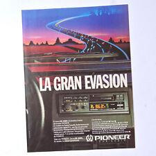 PIONEER KE-3080 / Advert Publicidad Reklame Pubblicita Publicite Car Audio Radio