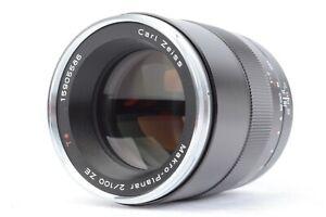 ZEISS MAKRO-PLANAR 100mm f/2 T* ZE Lens for Canon EF w/ MACK Warranty #P5586