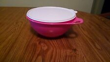 NEW Tupperware Thatsa Bowl Jr 12 cup PINK Berry Popular size, rare color