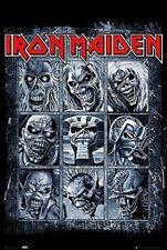 Iron Maiden Poster Eddie's Evolution