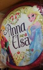 FROZEN FOREVER ELSA & ANNA GIRLS FILLED CUSHION PILLOW HOME BEDROOM DECOR GIFT