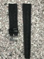 VINTAGE TROPIC STYLE 20MM SIZE RUBBER DIVER WATCH BAND