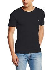 Duck and Cover Mens Plain T-Shirt Cotton Crew Neck Black Sizes: S - XXXL COLIN
