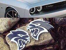 HELLCAT LOGO Kotflügel SRT8 Dodge Charger Challenger Aufkleber NEU 2 Stück
