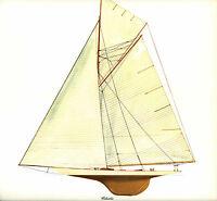 1899  Americas Cup Columbia Keel Sloop N G Herreshoff Melbourne Smith Print
