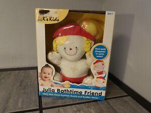 NEW in Box RARE Melissa & Doug K's Kids Julia Bathtime Friend