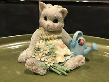 1993 Planting The Seeds of Friendship Calico Kittens Enesco No Box