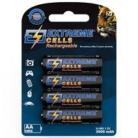 Extremecells 4er Pack AA Akku Accu NiMH Batterien für Gigaset Telefon CL6 C620H