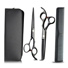"6.8"" Professional Hair Cutting Japanese Scissors Thinning Barber Shears Set Kit"
