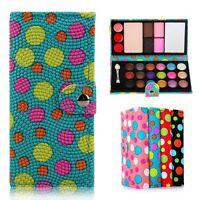 Makeup Palette Kit Set 21 Eyeshadow 4 Blusher 1 Powder with Brush Wallet Case UK