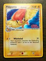 Pokemon Card Holon Phantoms Reverse Holo Pidgeotto 49/110 Stamped FREE SHIPPING!