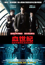 DAYBREAKERS Movie POSTER 27x40 Taiwanese Ethan Hawke Willem Dafoe Isabel Lucas