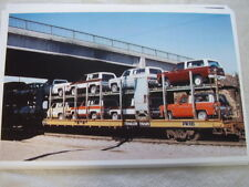 NEW 1977 CHEVROLET BLAZERS ON TRAIN CAR  COLOR  11 X 17  PHOTO /  PICTURE