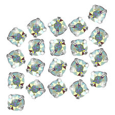 Swarovski 53200 Chaton Montees Crystal AB F 3.90mm Pack of 20 (M58/3)