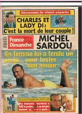 ▬►FRANCE DIMANCHE 2329 MICHEL SARDOU_BRIGITTE BARDOT_STEPHANIE MONACO_GUICHARD
