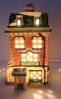 Grandeur Noel Victorian Village Restaurant 1995 Porcelain Vintage Replacement