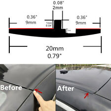 Upgrade 2cm Rubber Seal Car Pillar Roof Windscreen Edge Moulding Strip Trim 118""