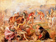 Meeting of King Ferdinand Cardinal-Infante by Peter Paul Rubens Art Print