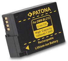 Patona Akku f. Panasonic Lumix DMC-G5, DMC-G6, DMC-G7, DMC-G70 - DMW-BLC12 PP
