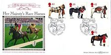 GB. Benham 1997 Queen Horses BLCS130, P/M Windsor