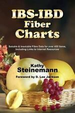 IBS-IBD Fiber Charts : Soluble and Insoluble Fibre Data for over 450 Items,...