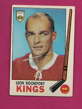 1969-70 TOPPS # 105 LA KINGS LEON ROCHEFORT  CARD