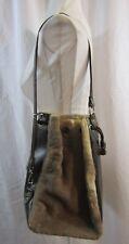 S.J. Ferguson PTY LTD Vintage Genuine Kangaroo Hide Handbag Made In Australia