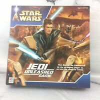 Star Wars Jedi Unleashed Board Game by Milton Bradley 2002 Complete
