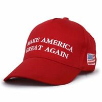2016 Make America Great Again Hat Donald Trump Republican Adjustable Red Cap