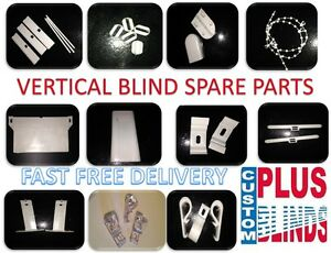 Vertical Blind Repairs Spare Parts Weights Chain Hangers  Safety Brackets spares